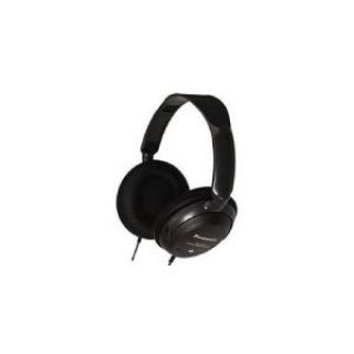 Product image of Panasonic RP-HT225E-K Monitor Headphones with XBS - Black*