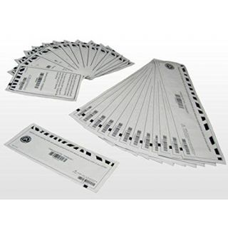 Product image of Zebra Cleaning Card Kit (includes 12 X and Y Roller Cleaning Cards, 5000 Prints/Card and 3 x Hot Roller Cleaning Cards, 20,000 Prints/Card) for ZXP Series 8 Printers