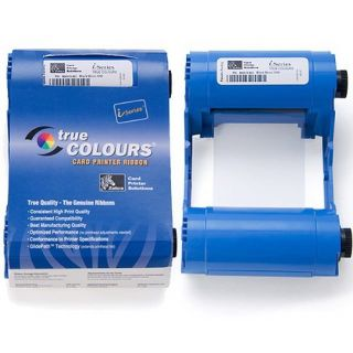Product image of Zebra i Series Colour Cartridge Printer Ribbon 6 Panel YMCKOK with 1 Cleaning Roller for P120i Card Printers