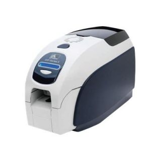 Product image of Zebra ZXP Series 3 Dual Side Colour Card Printer 32MB 16 Character LCD 140 cph + Quickcard CardStudio Standard Edition