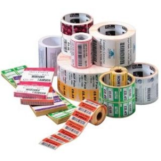 Product image of Zebra Z-Select 2000D 38mm x 25mm Premium topcoated direct thermal paper label with permanent adhesive