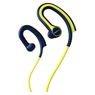 Product image of PIONEER SE-E711T-Y Lightweight Ear-clip Sports Headphones with In-line Mic. Three contrasting colours