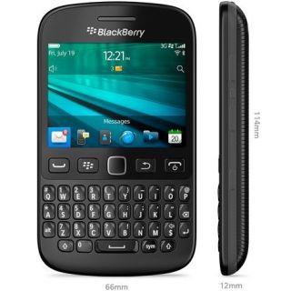 Product image of BLACKBERRY PRD-55047-027 Blackberry 9720 Curve QWERTY Sim Free - Black