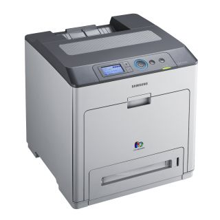 Product image of Samsung CLP-775ND (A4) Colour Laser Printer Duplexed+Networked 33ppm 384MB 500 Sheet Cassette Tray, 100 Sheet Multi-Purpose Tray