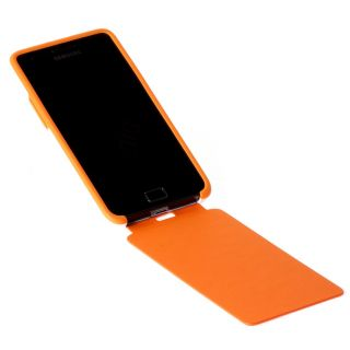 Product image of Samsung Flip Case (Orange) for Samsung Galaxy S II in White