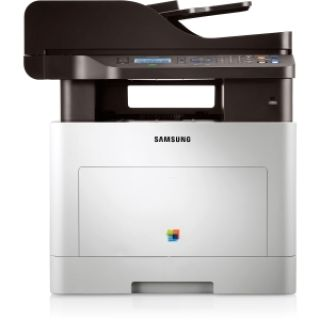 Product image of Samsung CLX-6260FR (A4) Colour Laser Multifunction Networked Printer (Print/Copy/Scan/Fax) 512MB 4-Line LCD 24ppm (Mono) 24ppm (Colour) 60,000 (MDC)
