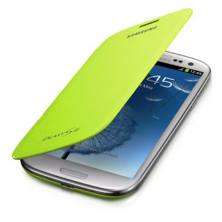 Product image of [Ex-Demo] Samsung Flip Case (Mint) for Galaxy S III Smartphone (Opened/ Item As New)