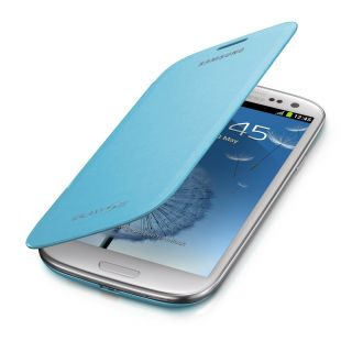 Product image of Samsung Flip Case (Light Blue) for Galaxy S III Smartphone