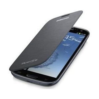 Product image of Samsung EFC-1G6F Flip Case (Grey) for Galaxy S III Smartphone
