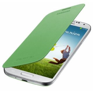 Product image of Samsung EF-FI950B Flip Cover (Green) for Galaxy S4 Smartphone