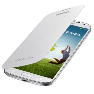 Product image of Samsung EF-FI950B Flip Cover (White) for Galaxy S4 Smartphone