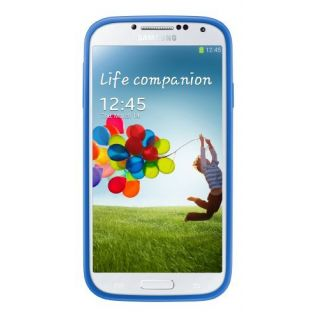 Product image of Samsung EF-PI950B Protective Cover+ (Light Blue) for Galaxy S4 Smartphone