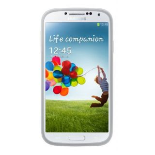 Product image of Samsung EF-PI950B Protective Cover+ (White) for Galaxy S4 Smartphone