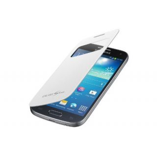 Product image of Samsung EF-CI919B S View Cover (White) Galaxy S4 Mini Smartphone