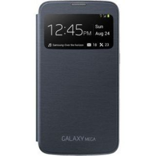 Product image of Samsung EF-CI920B S View Premium Cover (Black) for Galaxy Mega Smartphone
