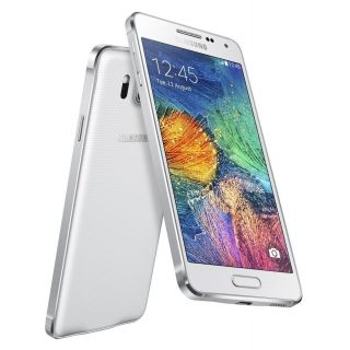 Product image of Samsung Galaxy Alpha SM-G850F (4.7 inch) Smartphone Octa-Core 1.8GHz+1.3GHz 2GB 32GB LTE 4G WLAN NFC BT Camera Android (Dazzling White)