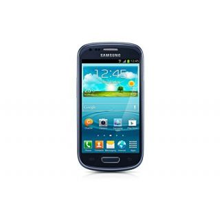 Product image of Samsung Galaxy S III Mini VE GT-I8200 (4 inch) Smartphone Dual Core 1GHz 1GB RAM 8GB Flash WLAN 3G BT Camera Android 4.1 JellyBean (Blue)