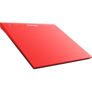 Product image of Samsung SE-208GB (8x) DVD-Writer Slim USB 2.0 External (Red)
