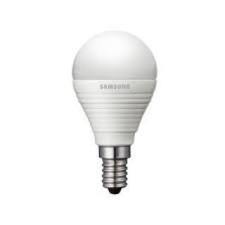 Product image of SAMSUNG SI-A8W052141EU Luster(P45) DIM E14 Base / E.Watts 25 / A.Watts 4.3 / 250 Lumens / 2700CCT / 25000 Hrs  Down size