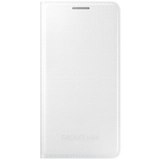 Product image of Samsung EF-FG850B Flip Cover (White) for Galaxy ALPHA Smartphone