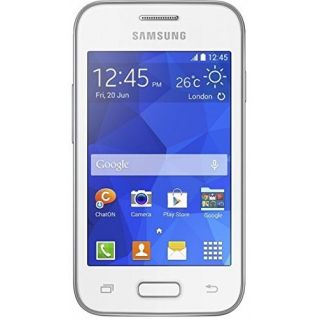 Product image of Samsung Galaxy Young 2 SM-G130 (3.5 inch) Smartphone 1GHz 0.5GB 3G WLAN BT NFC Camera Android 4.4 KitKat (White)