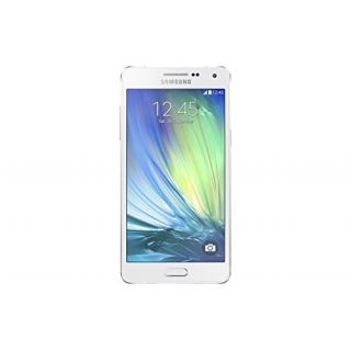 Product image of Samsung Galaxy A5 SM-A500F (5 inch) Smartphone Quad Core 1.2GHz 2GB RAM 16GB ROM LTE 4G WiFi BT NFC GPS Camera Android KitKat (Pearl White)