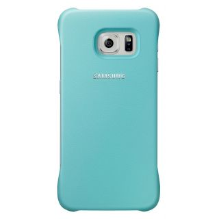 Product image of Samsung EF-YG925B Protective Cover (Mint) for Galaxy S6 Edge Smartphone