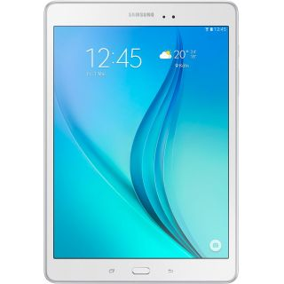 Product image of Samsung Galaxy Tab A SM-T555 (9.7 inch) Tablet PC Quad Core 1.2GHz 1.5GB 16GB WiFi LTE 4G BT Camera Android 5.0 Lollipop (White)
