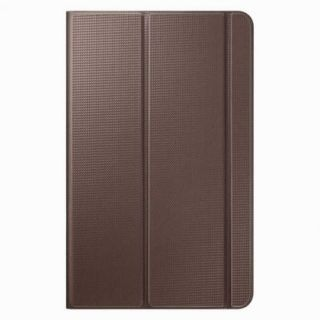 Product image of Samsung EF-BT560B Leather Look Book Cover (Brown) for Galaxy Tab E 9.6 inch Tablet