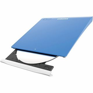 Product image of Samsung SE-208GB (8x) DVD-Writer Slim USB 2.0 External (Blue) Retail