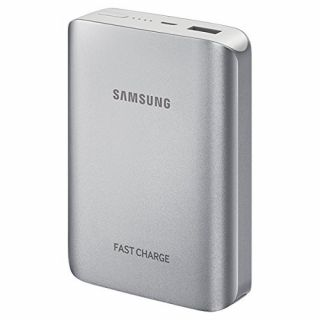 Product image of Samsung EB-PG935 (10200mAh) External Battery Pack with Quick Charge (Silver)