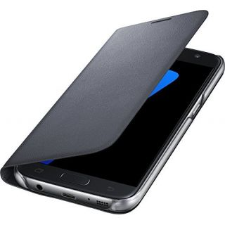 Product image of Samsung LED Cover (Black) for Galaxy S7 Smartphone