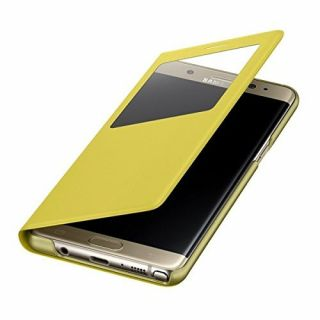 Product image of SAMSUNG EF-CN930PYEGWW Samsung Galaxy Note 7 S View Stand Cover Yellow