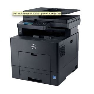 Product image of DELL 210-ABWL Dell C2665DNF A4 Colour Networked Laser 4 in 1 28PPM 1 Tray Duplex ADF