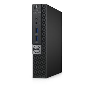 Product image of DELL OPTIPLEX 3040-2734 MFF I3-6100T 4GB 128GB SSD HD530 W7P/W10 GR