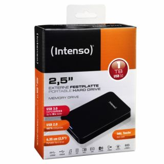 Product image of Intenso (1TB) 2.5 inch Hard Disk Drive USB 3.0 (Black)
