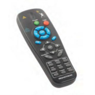 Product image of Promethean Remote Control for PRM-25 Projectors for Interactive Whiteboards (Black)