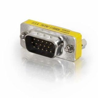Product image of C2G HD15 VGA M/F Mini Port Saver Adaptor
