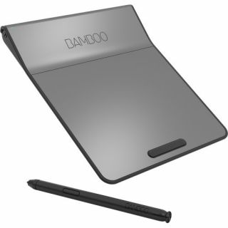 Product image of Wacom Bamboo USB Pad (Silver/Black) with Digital Stylus