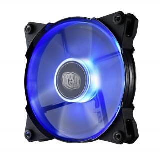 Product image of Cooler Master Jet Flo (120mm) 600-2000rpm PWM Case/Cooler Fan with Blue LED