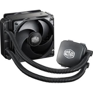 Product image of Cooler Master Nepton 120XL All in one Liquid CPU Water Cooler Kit with 2x 120mm PWM Fans and 120mm Radiator