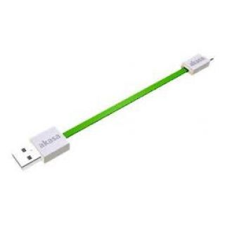 Product image of AKASA AK-CBUB16-15GN PROSLIM USB Charge & Sync cable green
