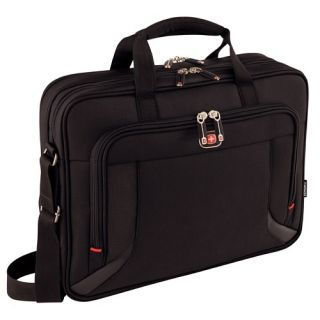 "Product image of Wenger 600649 Prospectus 16"" Double Compartment Notebook Case"