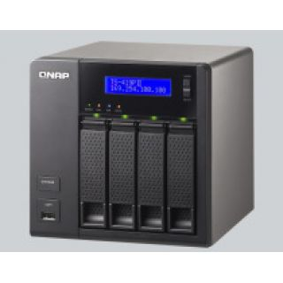 Product image of QNAP TS-419P II All-in-One Tower Server 16TB (4x4TB) 4-Bays Turbo NAS for Home and SOHO Users (Black)