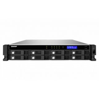 Product image of QNAP TS-869U-RP Rack Server 8-Bay Turbo NAS for Small and Medium Business Users (Black)