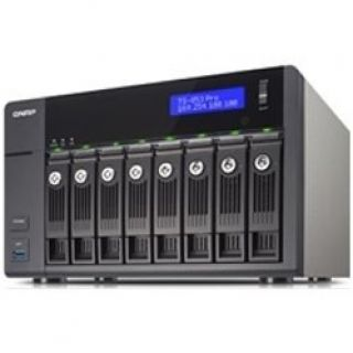 Product image of QNAP TS-853 Pro Tower 8-Bay Network Attached Storage (NAS) Celeron (2.0GHz) 2GB QTS 4.1 LAN/USB/HDMI (Black)