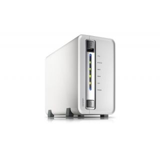 Product image of QNAP TS-212P 2TB (1 x 2TB WD RED) 2-bay home & SOHO NAS for personal cloud and social sharing