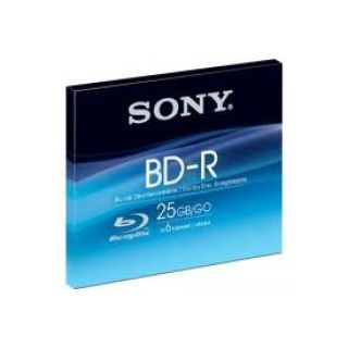 Product image of Sony BNR25SL BD-R Blu-ray Disc 25GB 6x