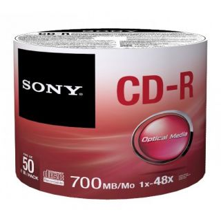 Product image of Sony CD-R 48X 80 min 700MB (50 Pack)