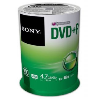 Product image of Sony MPE DVD+R 16x Spindle 100 Pcs